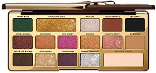 Too Faced Chocolate Gold Eyeshadow Palette 15 Colors
