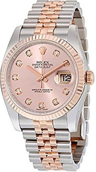 Rolex Datejust Men's Watch Rose Gold (116231PDJ)