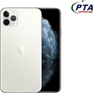 Apple iPhone 11 Pro 512GB Dual Sim Silver - Official Warranty