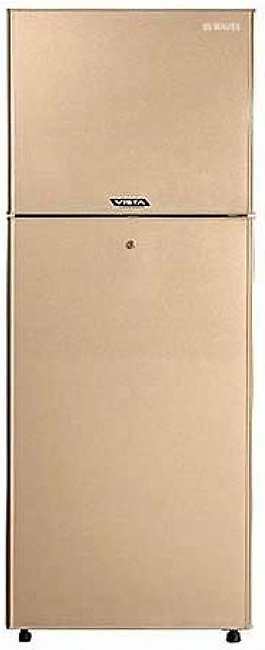 Waves Vista Freezer On Top Refrigerator 10 Cu ft Golden (WR-310)