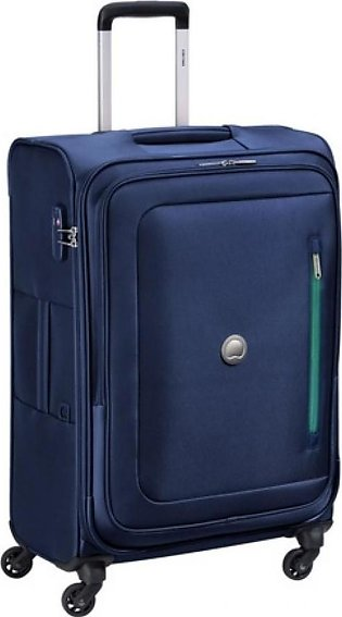 "Delsey Oural 4W 26"" Trolley Cabin Medium Navy Blue (352881102)"