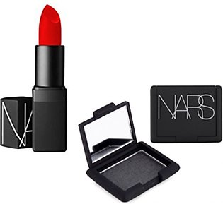Nars Eyeshadow And Future Lipstick Red Pack Of 2