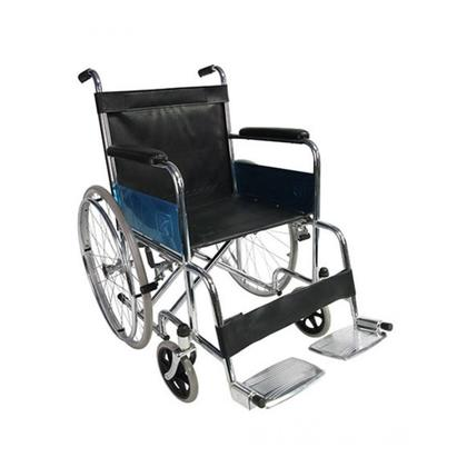 Hussan Traders Chrome Plated Wheel Chair (0006)