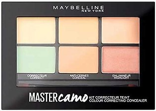 Maybelline New York Master Camo Color Correcting Concealer Palette (Claire Li...