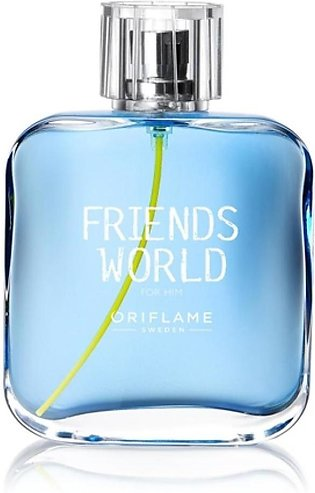 Oriflame Friends World Eau De Toilette For Men 75ml (33384)