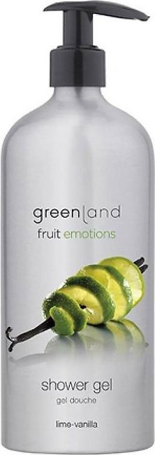 Greenland Bodycare Fruit Emotions Shower Gel Lime Vanilla 600ml
