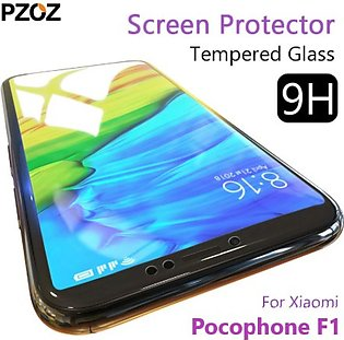 T Online Shop Tempered Glass Protector For Pocophone F1