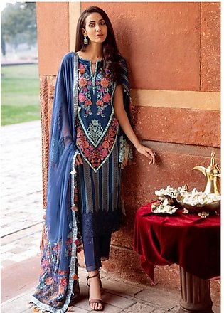 Charizma Spring/Summer Lawn Collection 2020 3 Piece (SS-08)