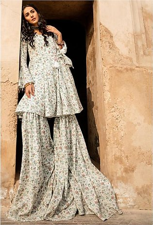 Gul Ahmed Vintage Garden Collection 2020 Unstitched Lawn 1 Piece (SL829)