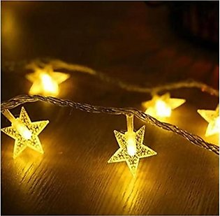 The Gift Shop Star Design Party LED Fairy Lights (0061)