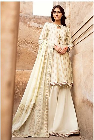 Gul Ahmed Taani Jaquard Collection 2020 3 Pieces (MJ37B)