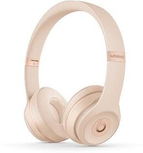 Beats Solo 3 Wireless Bluetooth On-Ear Headphones Matte Gold