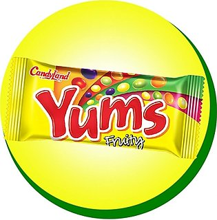 CandyLand Yums Fruity Beans - 18 Piece