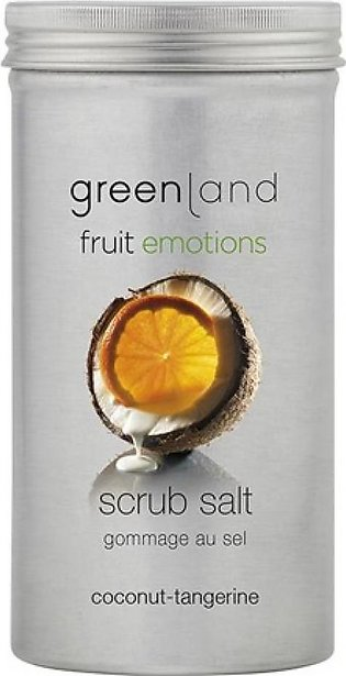 Greenland Bodycare Fruit Emotions Scrub Salt Coconut Tangerine 400grm