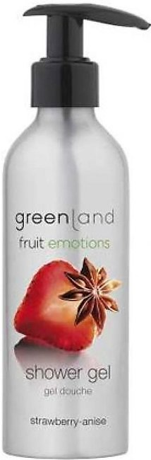 Greenland Bodycare Fruit Emotions Shower Gel Strawberry Anise 200ml