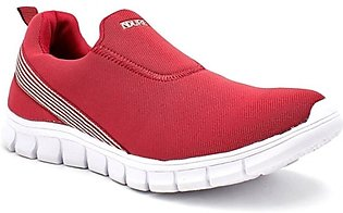 Servis Ndure Sports Shoes For Men Maroon (ND-TR-0119)