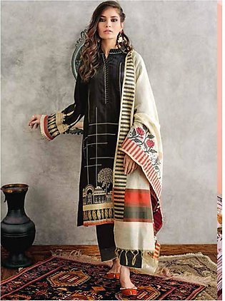 Gul Ahmed Summer Premium Collection 2020 3 Pieces (MJ27)