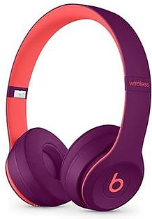 Beats Solo 3 Wireless Bluetooth On-Ear Headphones Pop Magenta