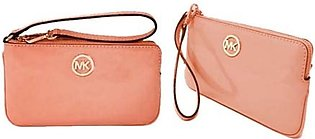 Michael Kors Clutch Bag For Women Peach