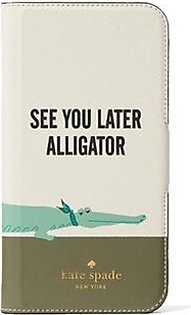 Kate Spade See You Later Alligator Folio Multi Case For iPhone X/XS