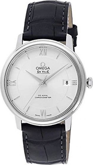 Omega De Ville Prestige Men's Watch Silver (424.13.40.20.02.001)
