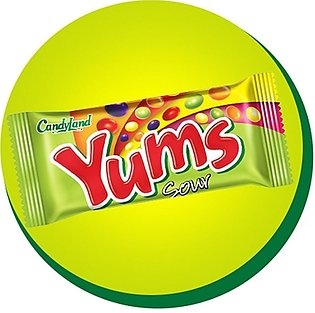 CandyLand Yums Sour Beans - 18 Piece
