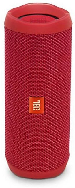 JBL Flip 4 Waterproof Portable Bluetooth Speaker Red