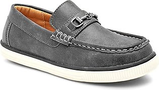 Servis Ndure Boat Shoes For Men Black (ND-SH-0004)