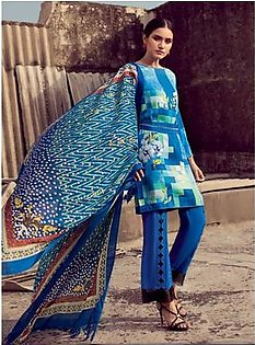 Gul Ahmed Winter Collection 3 Piece (PSM07)