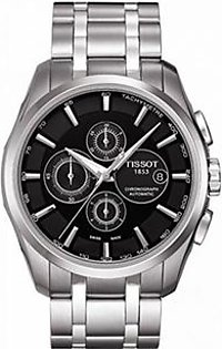Tissot Couturier Men's Watch Silver (T0356271105100)