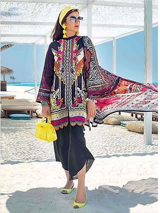 Zainab Chottani Luxury Lawn Collection 2020 3 Piece Divine Reverie (04A)