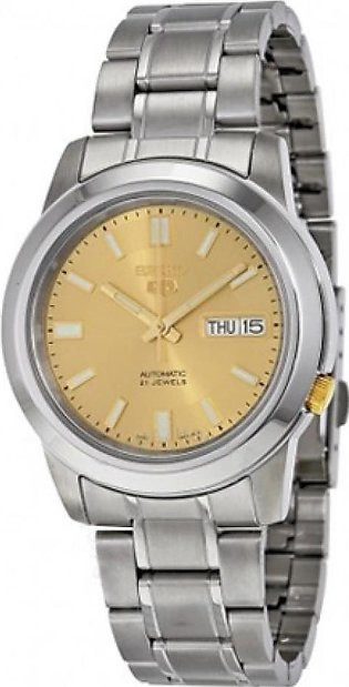 Seiko 5 Men's Watch Silver (SNKK13)