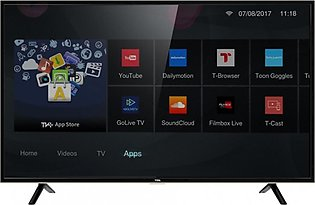 "TCL 40"" Smart HD DTV LED TV (40S62)"