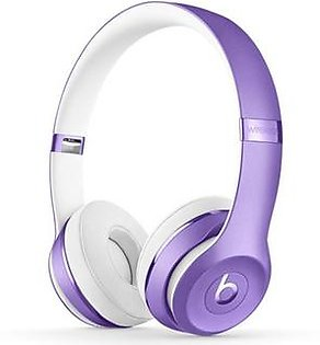 Beats Solo 3 Wireless Bluetooth On-Ear Headphones Ultra Violet