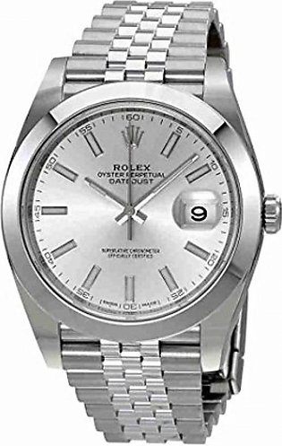 Rolex Datejust Men's Watch Silver (126300SSJ)