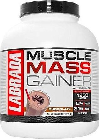 Labrada Nutrition Muscle Mass Gainer Chocolate 6Lbs