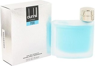 Dunhill London Pure Eau De Toilette Perfume For Men 75ml