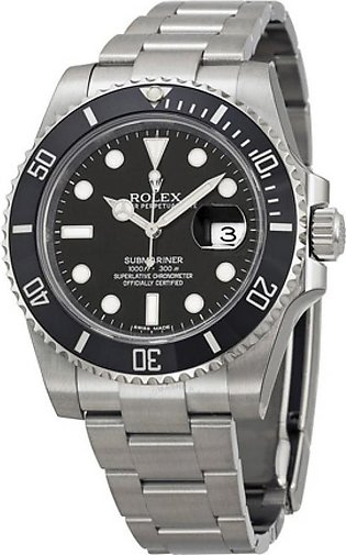 Rolex Submariner Date Men's Watch Silver (116610LN)