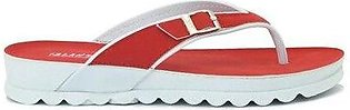 Eslector Casual Slipper For Women Red (0037)