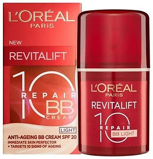 L'Oreal Revitalift Repair 10 BB Light Cream 50ml