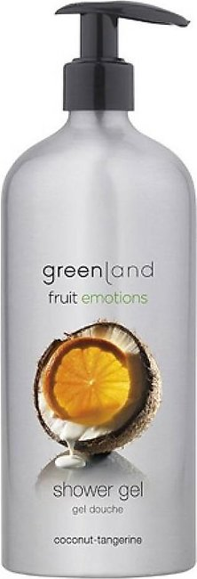 Greenland Bodycare Fruit Emotions Shower Gel Coconut Tangerine 600ml