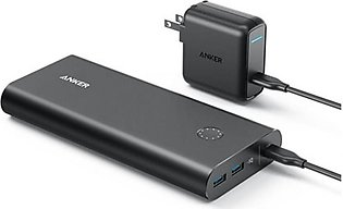 Anker PowerCore+ 26800mAh PD with 30W Power Delivery Charger Black
