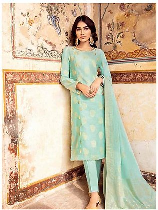Gul Ahmed Taani Jaquard Collection 2020 3 Pieces (MJ32A)