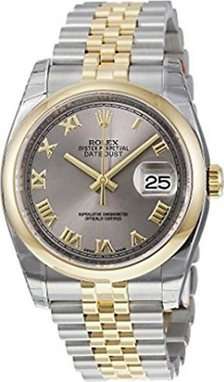 Rolex Datejust 36 Men's Watch Yellow Gold (116203RRJ)