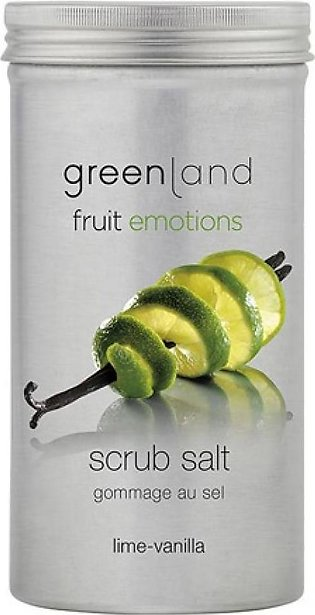 Greenland Bodycare Fruit Emotions Scrub Salt Lime Vanilla 400Grm