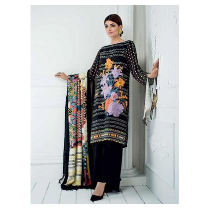 Gul Ahmed Winter Collection 3 Piece (SWM04)