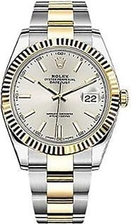 Rolex Datejust 41 Automatic Men's Watch Yellow Gold (126333-SLVSO)