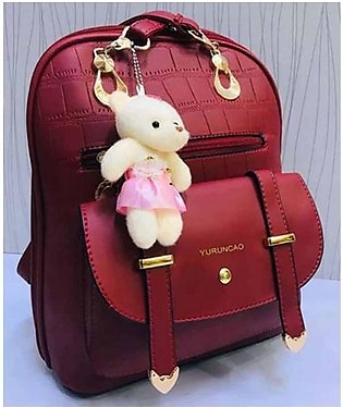 Shopping Gallery Backpack For Women Maroon