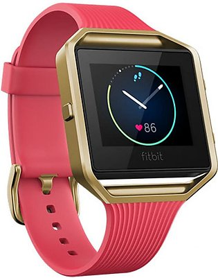 Fitbit Blaze Fitness Watch Special Edition Slim Pink/Gold