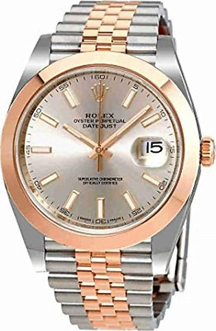 Rolex Datejust 41 Men's Watch Gold (126301SNSJ)